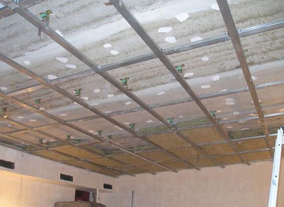 шумоизоляция потолка в частном доме