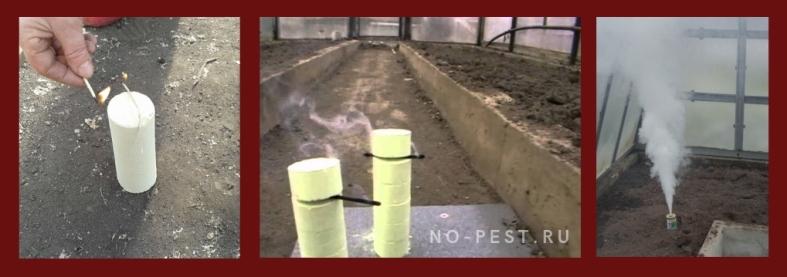 Фумигация (окуривание) теплицы весной дымовыми шашками