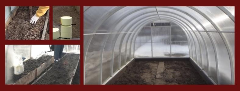 Как и чем обработать теплицу из поликарбоната весной?