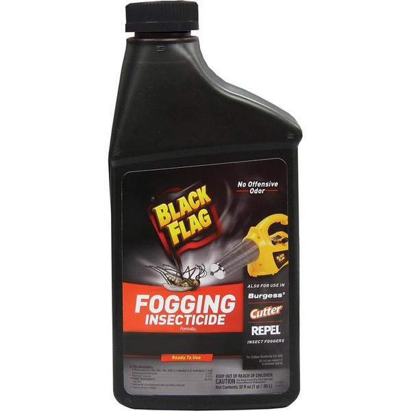 Препарат «Black Flag 190255 Fogging Insecticide 32-Ounce» должен использоваться исключительно на открытых пространствах