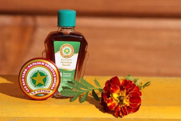 В состав бальзама входят натуральные эфирные масла