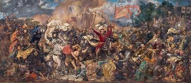 «Битва под Грюнвальдом». Ян Метейко (1878)
